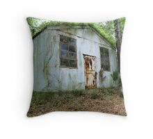 Tin Roof... Rusted. Throw Pillow