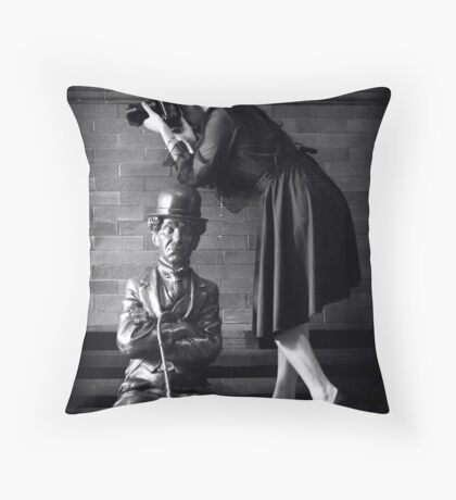 Best Supporting Husband Throw Pillow