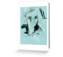 pastel girl (2014) Greeting Card