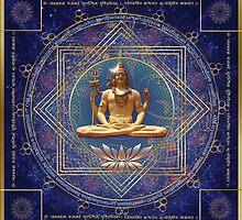 Shiva Mahamrityunjaya -  Karma purifying by Olga Kuczer