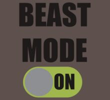 Beast Mode ON Kids Clothes