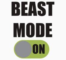 Beast Mode ON One Piece - Short Sleeve