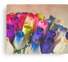 Spring Roses Canvas Print