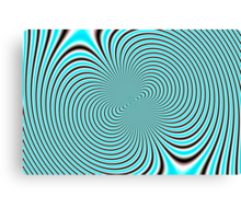 Psychedelic design 01 Canvas Print