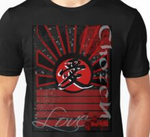 Kanji Tee in black Unisex T-Shirt