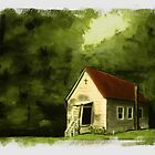 Country Church 2... prints and products by © Bob Hall