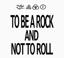 To Be A Rock And Not To Roll Men's Baseball ¾ T-Shirt