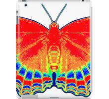 Colorful Butterfly - Red iPad Case/Skin