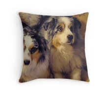Mellie and Icey Throw Pillow