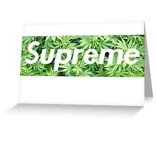 Dope Supreme Greeting Card
