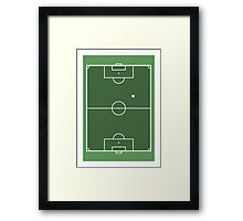 SPORT PERSPECTIVE - FOOTBALL Framed Print