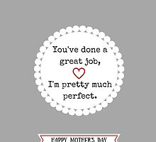 A Modest Mother's Day Message by anenglishrose