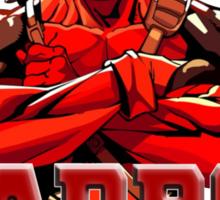 Deadpool for President Sticker