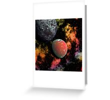 Lost Galaxy Greeting Card