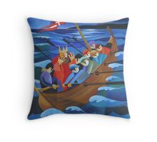 KING CHRISTIAN II's DILEMMA 1523 Throw Pillow
