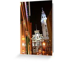 City Hall - Philadelphia, PA  Greeting Card