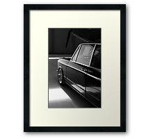 BWM 2002 - Silhouette Framed Print