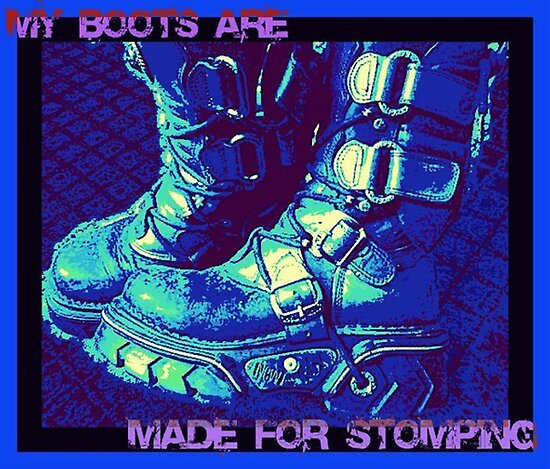 Made for Stomping by DreddArt