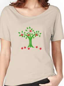 Apple Tree Women's Relaxed Fit T-Shirt
