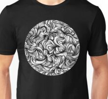 Abstract Waves Unisex T-Shirt
