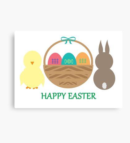 Easter Basket  Canvas Print