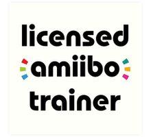 Licensed amiibo trainer Art Print