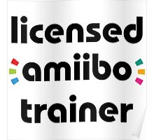 Licensed amiibo trainer Poster