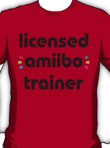 Licensed amiibo trainer T-Shirt