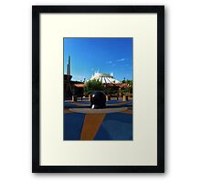 Space The Mountain Framed Print