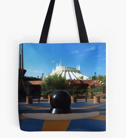 Space The Mountain Tote Bag