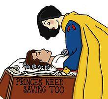 Princes need saving too- Snow White by Lily Montford