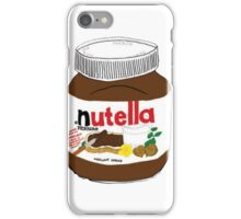 Nutella Drawing iPhone Case/Skin
