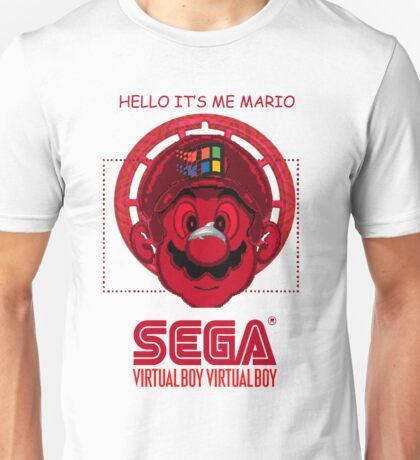 It Is Me Mario Unisex T-Shirt