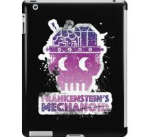 Frankenstein's Mechanoid - 80s Grunge iPad Case/Skin