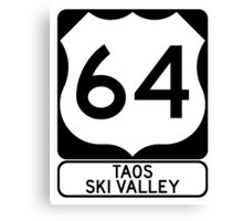US64 - Taos Ski Valley Canvas Print