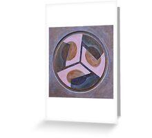 Mandala 5 - Pink And Brown Greeting Card