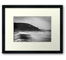 A coast to remember Framed Print