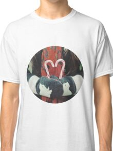 Candy cane love Classic T-Shirt