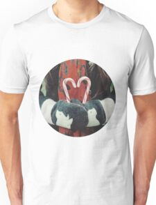 Candy cane love Unisex T-Shirt