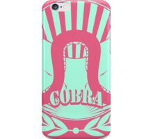 Strike First - Thumb Wrestling Neon Colors iPhone Case/Skin