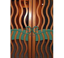 Wavy Doors  Photographic Print
