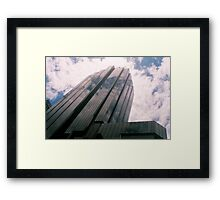 Big City Skyline........cloud cannon Sydney CBD Framed Print