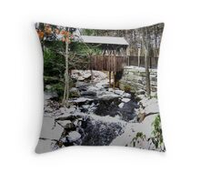 1760 Old Mill 1 of 3 Throw Pillow