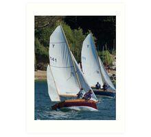 sailing GB Art Print