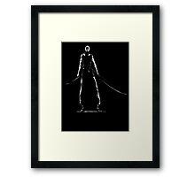 Ichigo New Zangetsu (Black Only) Framed Print