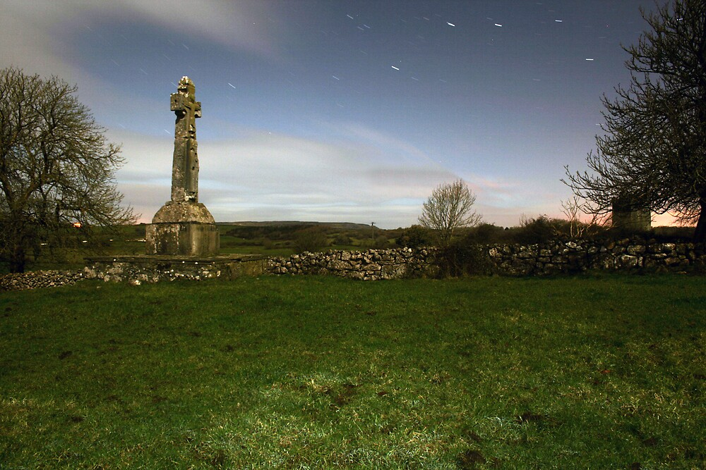Dysert O'Dea Celtic Cross by John Quinn