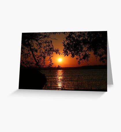 Last Light... Greeting Card