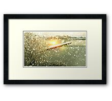 Ice Water Framed Print