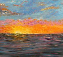 San Francisco, Sunrise Print, home decor, wall art by artbykatsy