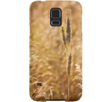 Golden cereal plant photo Samsung Galaxy Case/Skin